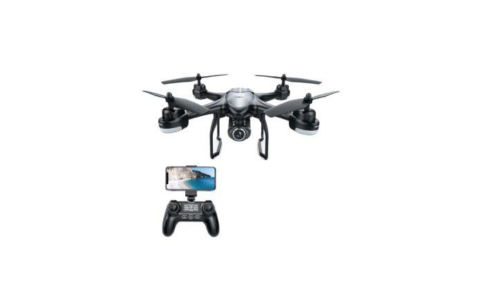 _Potensic T18 GPS Drone, FPV RC Quadcotper with Camera 1080P Live Video-min