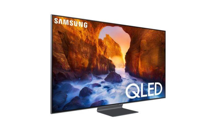 Samsung QN65Q90RAFXZA Flat 65-Inch QLED 4K Q90 Series Ultra HD Smart TV-min (1)