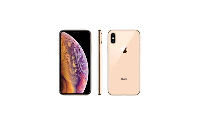 Simple Mobile Prepaid - Apple iPhone XS (64GB) - Gold -min
