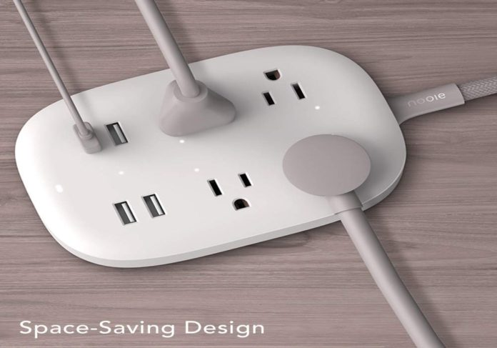 Smart Power Strip, Nooie WiFi Surge Protector-min