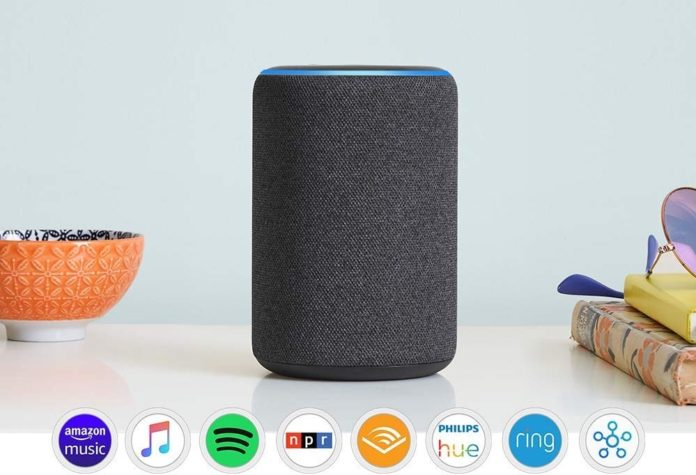 All-new Echo (3rd Gen)- Smart speaker with Alexa- Charcoal -min (1)
