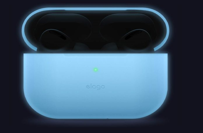 Apple AirPods Pro glowing case-min