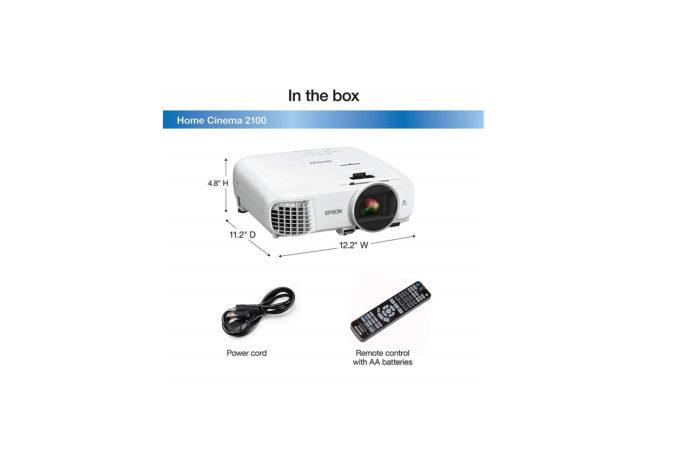 Epson Home Cinema 2100 1080p 3LCD projector-min