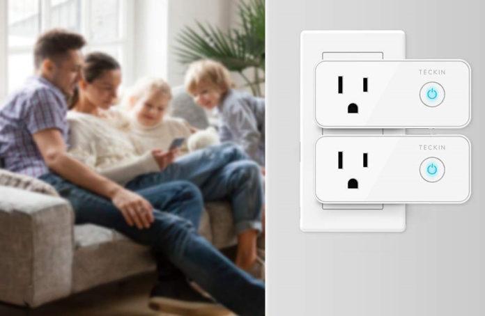 Four Pack Of Teckin Smart Plug-min