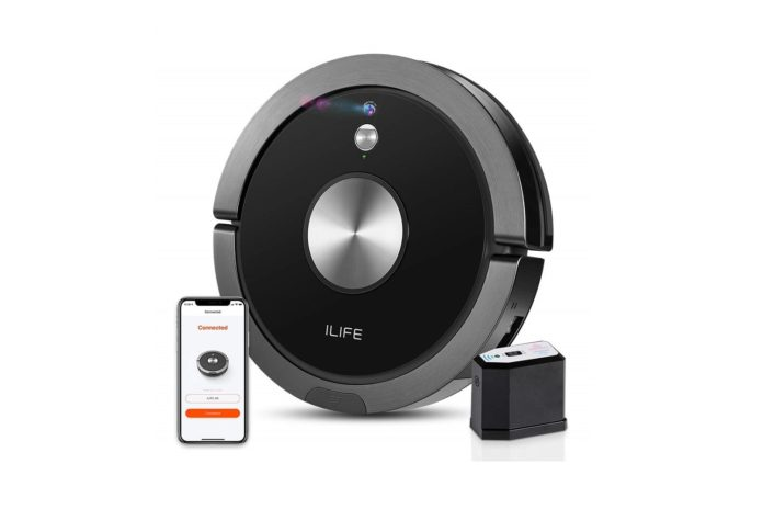 ILIFE A9 Robot Vacuum Cleaner-min