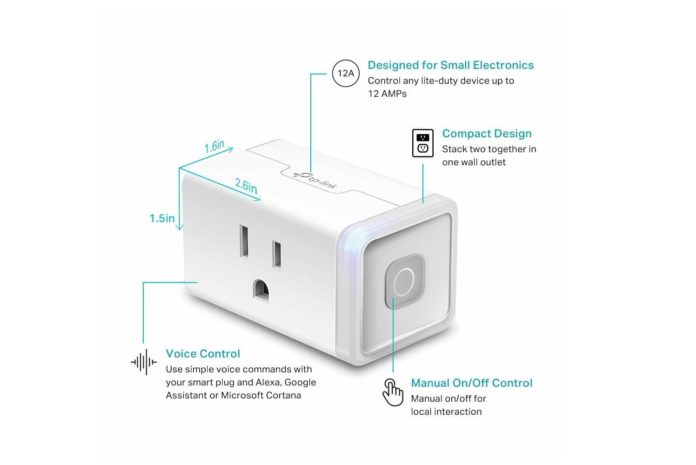 Kasa Smart WIFI plug-min