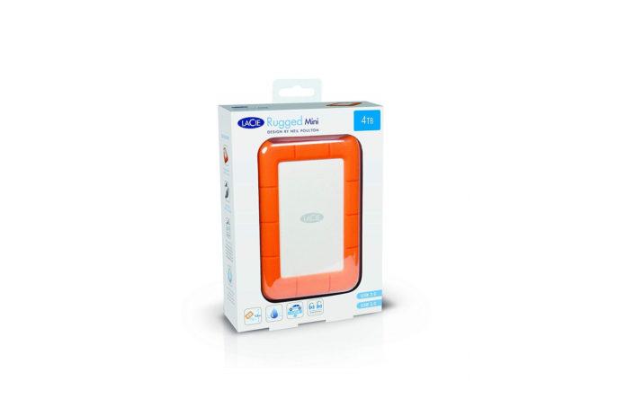 LaCie Rugged Mini 4TB External Hard Drive Portable HDD-min