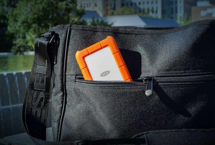 LaCie Rugged USB-C 4TB External Hard Drive Portable HDD -min