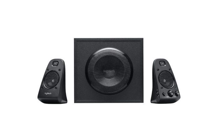 Logitech Z623 200 Watt Home Speaker System, 2.1 Speaker System -min