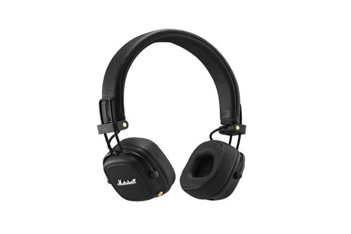 Marshall Major III Bluetooth Wireless On-Ear Headphones, Black-min
