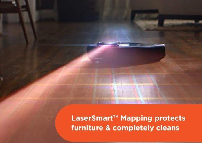 Neato Robotics D4 Connected Laser Guided Robot Vacuum-min