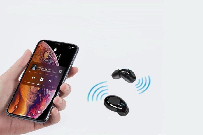 Pair ESR Mini Wireless Bluetooth Earbuds-min