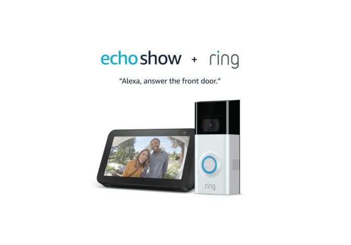 Ring Video Doorbell 2 with Echo Show 5-min