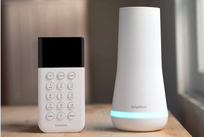 SimpliSafe 8 Piece Wireless Home Security-min