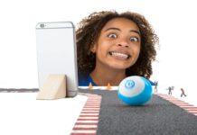 Sphero Mini (Blue) App-Enabled Programmable Robot Ball-min