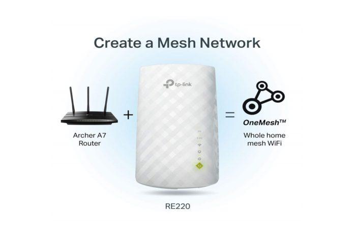 TP-Link AC750 WiFi Range Extender-min