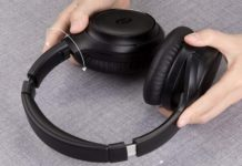 TaoTronics Active Noise Cancelling Headphones-min