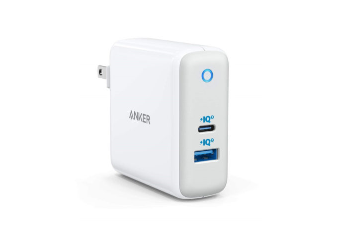 USB C Charger, Anker 60W PIQ 3.0 & GaN Tech Dual Port Charger, PowerPort Atom III (2 Ports) Travel Charger with a 45W USB C Port, for USB-C Laptops,-min-min