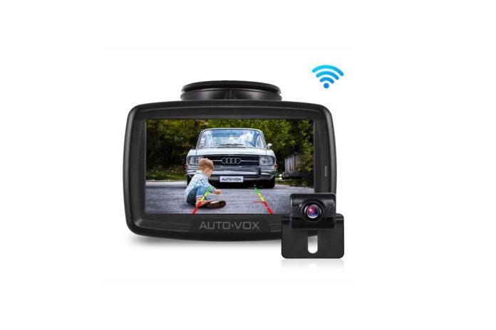 W2 NO Interference Digital Wireless Backup Camera System Kit-min