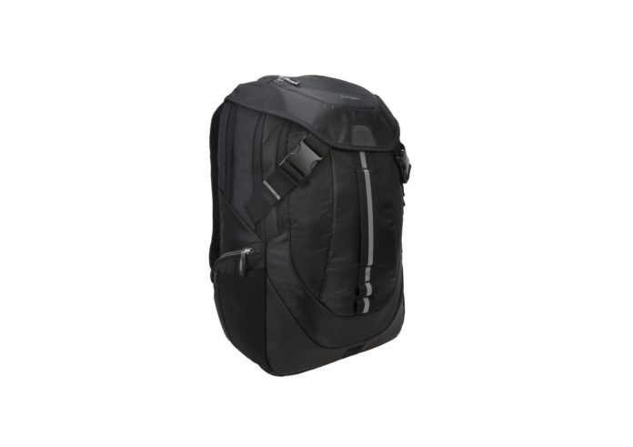 argus Voyager II Travel and Commuter Business Backpack for 17.3-Inch Laptop, Black (TSB953GL)-min