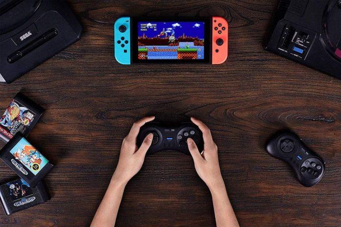8Bitdo M30 Bluetooth Gamepad for Nintendo Switch-min