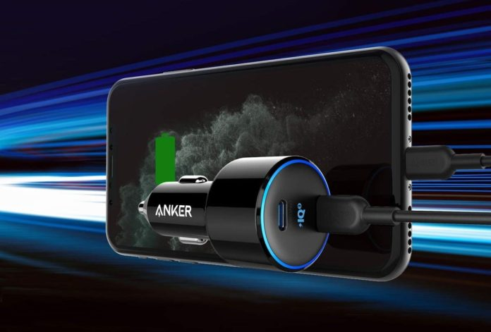 Anker 48W 2-Port PIQ 3.0 Fast Charger Adapter-min