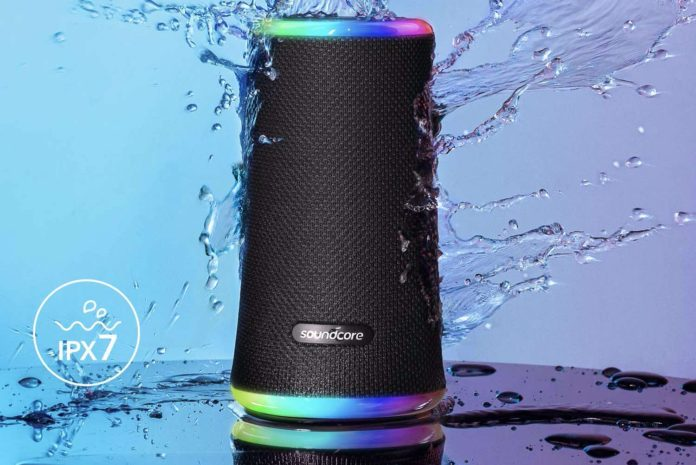 Anker Soundcore Flare 2 Bluetooth Speaker-min