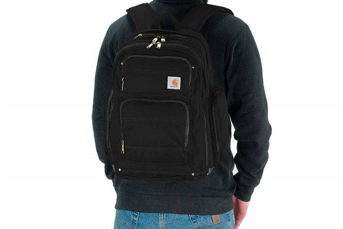 Carhartt Legacy Deluxe Work Backpack with 17-Inch Laptop Compartment-min