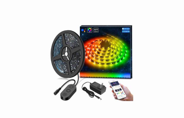 _DreamColor LED Strip Lights, MINGER 9.8FT LED Lights Music Sync-min