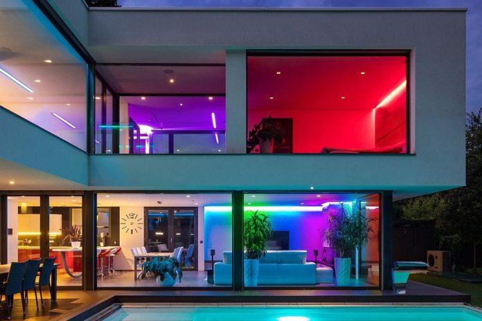 Dreamcolor 16.4ft LED Strip Lights with Remote-min