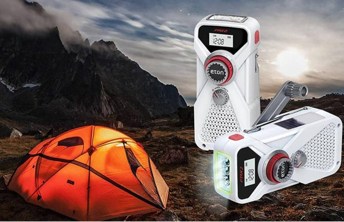 Eton Hand Turbine Weather Radio with USB Smartphone Charger-min