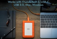 LaCie Rugged USB-C 5TB External Hard Drive-min
