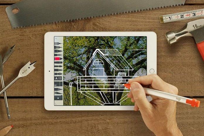 Logitech Crayon Digital Pencil for iPad-min