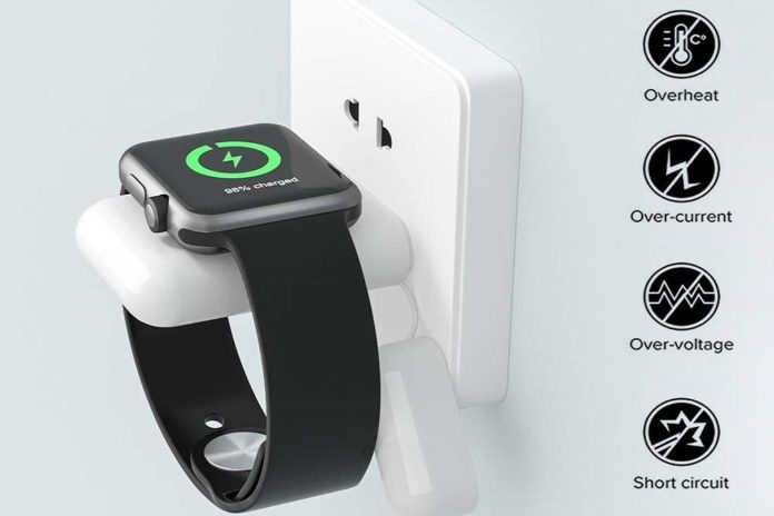 MQOUNY for Apple Watch Wireless Charger