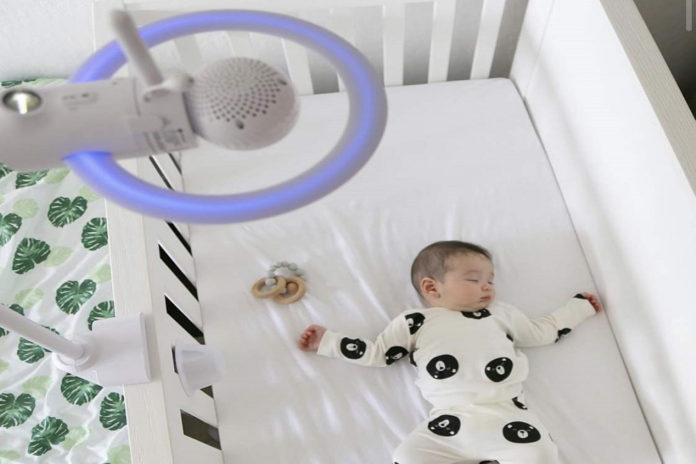 Motorola Halo+ Video Baby Monitor-min