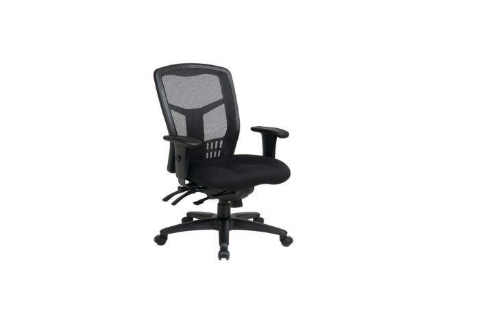 Office Star High Back ProGrid Back FreeFlex Seat with Adjustable Arms and Multi-Function and Seat Slider-min