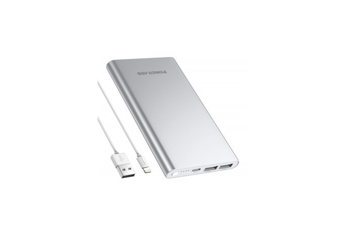 POWERADD Pilot 4GS 12000mAh Portable Charger 8 Pin Input Power Bank