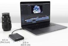 Plugable 2TB Thunderbolt 3 External SSD-min