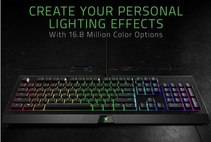 Razer Cynosa Chroma Gaming Keyboard-min