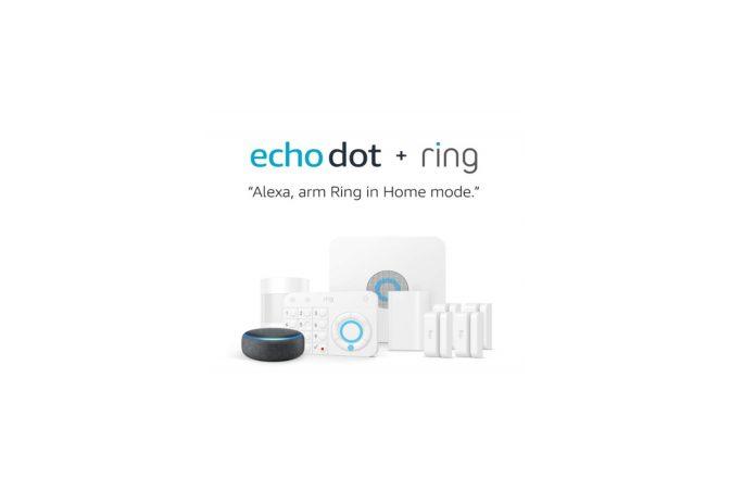 Ring Alarm 8 Piece Kit + Echo Dot (3rd Gen)
