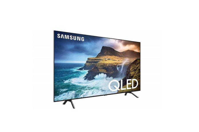 Samsung QN65Q70RAFXZA Flat 65-Inch QLED 4K Q70 Series Ultra HD Smart TV