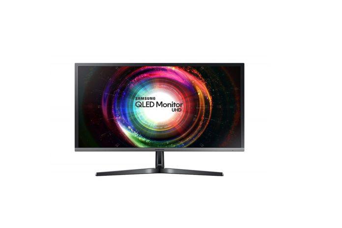 Samsung UH750 28 inch QLED 4K UHD 1ms LED-Lit FreeSync Monitor-min
