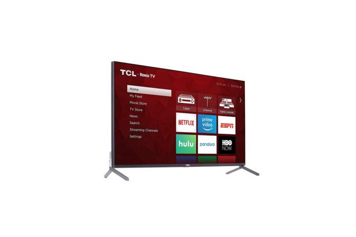 TCL 55 Class 6-Series 4K UHD QLED Dolby Vision HDR Roku Smart TV-min