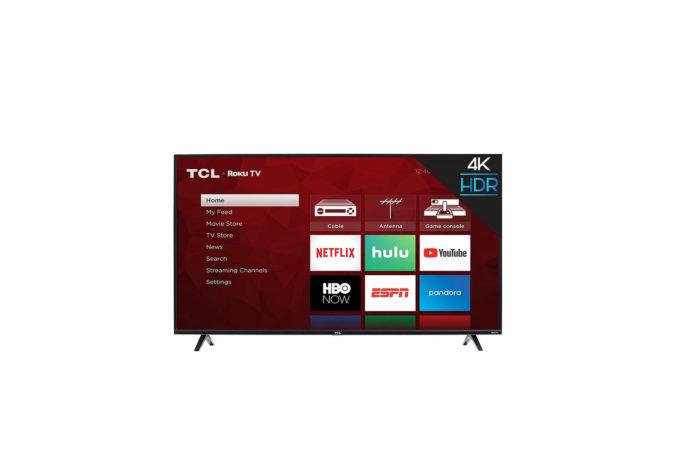TCL 55S425 55 inch 4K Smart LED Roku TV-min