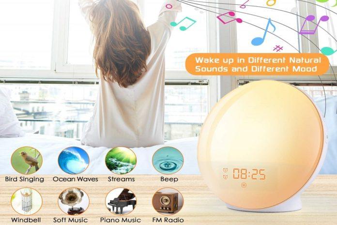 Wake Up Light Alarm Clock-min