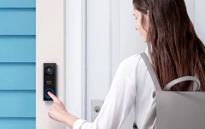 eufy Security, Wi-Fi Video Doorbell with 2K HD, 2-way audio-min