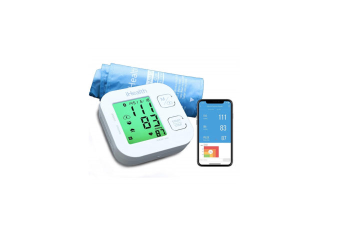 iHealth Track Wireless Blood Pressure Monitor-min