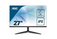 AOC 27B1H 27 Full HD 1920x1080 Monitor,