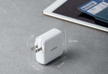 Anker 36W 2-Port PIQ 3.0 Type C Wall Charger