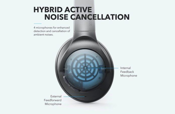 Anker Soundcore Life Q20 Hybrid Active Noise Cancelling Headphones-min